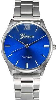 Watches for Women Men Hot Sale Wugeshangmao Unisexs Crystal Analog Quartz Watch, Fashion Analog Wrist