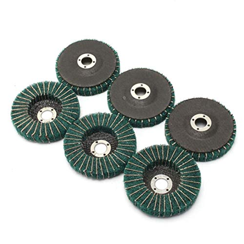 LITAO-XIE, LT-Discs, 5pcs Metall Flap Disc Kunststoff-Puffer Grinder Werkzeuge Scouring Pad 320 Grit