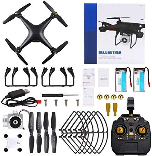 YAMMY H68 RC Drone con 720P HD Camera Live Video FPV Quadcopter con Modo sin Cabeza, (20Mins + 20Mins) 40Mins Flight Time Drone (Coche RC)