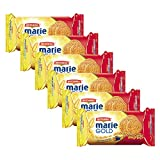 BRITANNIA Marie Gold Cookies 3.13oz (89g) - Biscuits Pour l'heure du thé - Original Flavour Crispy Snack Tea Time Biscuits Crisp and Light Full of Minerals and Vitamins - Suitable for Vegetarian (Pack of 6)