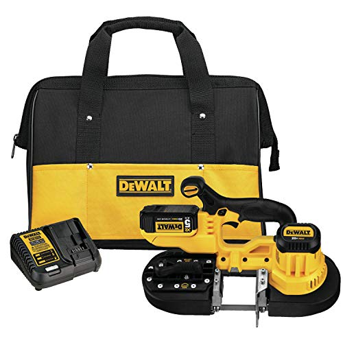 DEWALT 20V MAX Portable Band Saw Kit (DCS371P1)