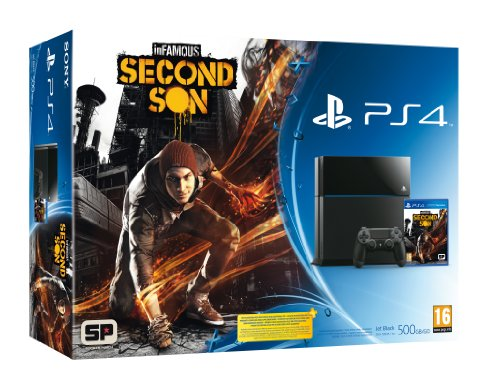 PlayStation 4 - Console 500 GB + Infamous SS