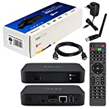 MAG 322 Original Infomir / HB-DIGITAL IPTV SET TOP BOX Multimedia Player Internet TV IP Receiver (HEVC H.256) Nachfolger von MAG 254 + WLAN WiFi USB Stick von HB-Digital mit Antenne + HDMI Kabel