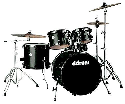 DDrum Journeyman jugador 5pc batería brillo negro
