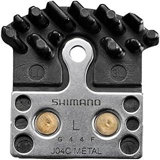 Shimano J04C Metal Disc Brake Pads, Spring and Fin