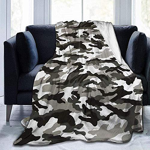 XZHYMJ Blanket Army Camouflage Camo Blanket Foldrable Throw Blanket Washable Couch Sofa Blanket Reversible Plush Blanket Beach Blanket
