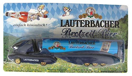 Privatbrauerei Lauterbach Nr.18 - Brotzeit Bier - Colani - Sattelzug mit Tankauflieger