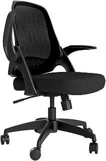 comprar comparacion Hbada Silla de oficina Silla de escritorio ergonómica Silla giratoria con reposabrazos plegables Silla de malla para compu...