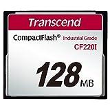 Transcend 業務用/産業用 組込向け CFカード 128MB UDMA5 温度拡張品 SLC NAND採用 高耐久 2年保証 TS128MCF220I