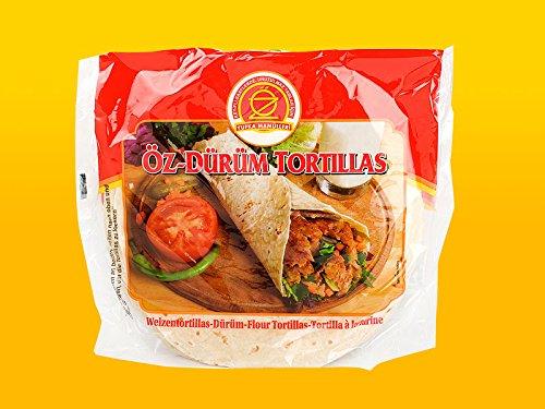 Öz-Dürüm Tortillas Wrap 16 x Ø 20 Dürüm Ekmek 640g