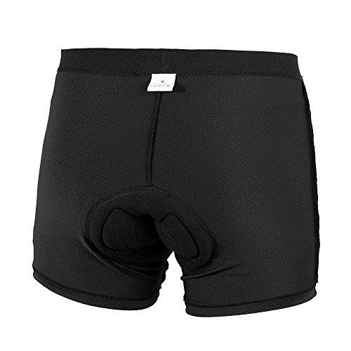 Speedspo - Culote para ciclistas, calidad profesional, para hombre, ropa interior, schwarz...