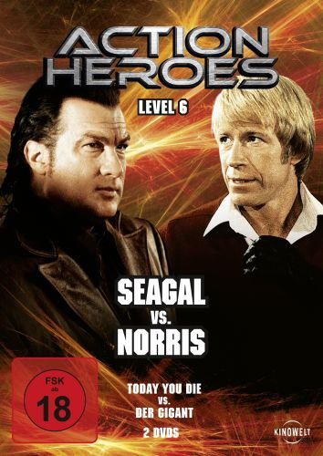 Action Heroes - Level 6: Seagal vs. Norris [2 DVDs]