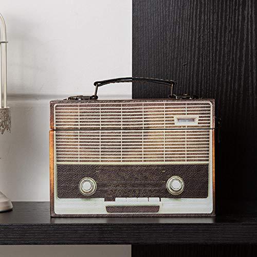 Retro nostalgische Kamera Radio Koffer Aufbewahrungsbox Home Dekoration Ornamente-Typ A.