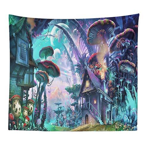 Higlles Wandteppich Wandtuch Yoga Wandbehang Tapisserie Hippie Tapestry Picknickdecke Staubtuch Tischdecke Wand Home Decor Foto