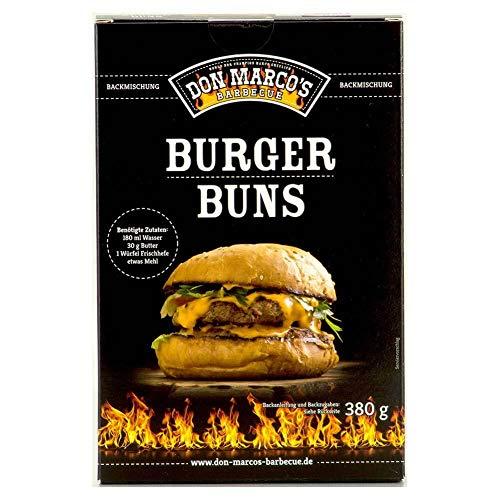 Don Marco's Barbecue Backmischung 380g für Burger Buns, Backmischung