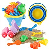 fivebull Beach Sand Toys with Fo...