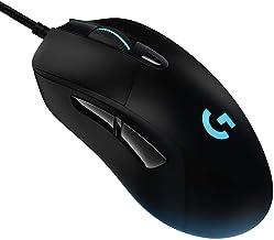 Mouse Gamer RGB Logitech G403 HERO com Tecnologia LIGHTSYNC, 6 Botões Programáveis, Ajuste de Peso e Sensor HERO 25K