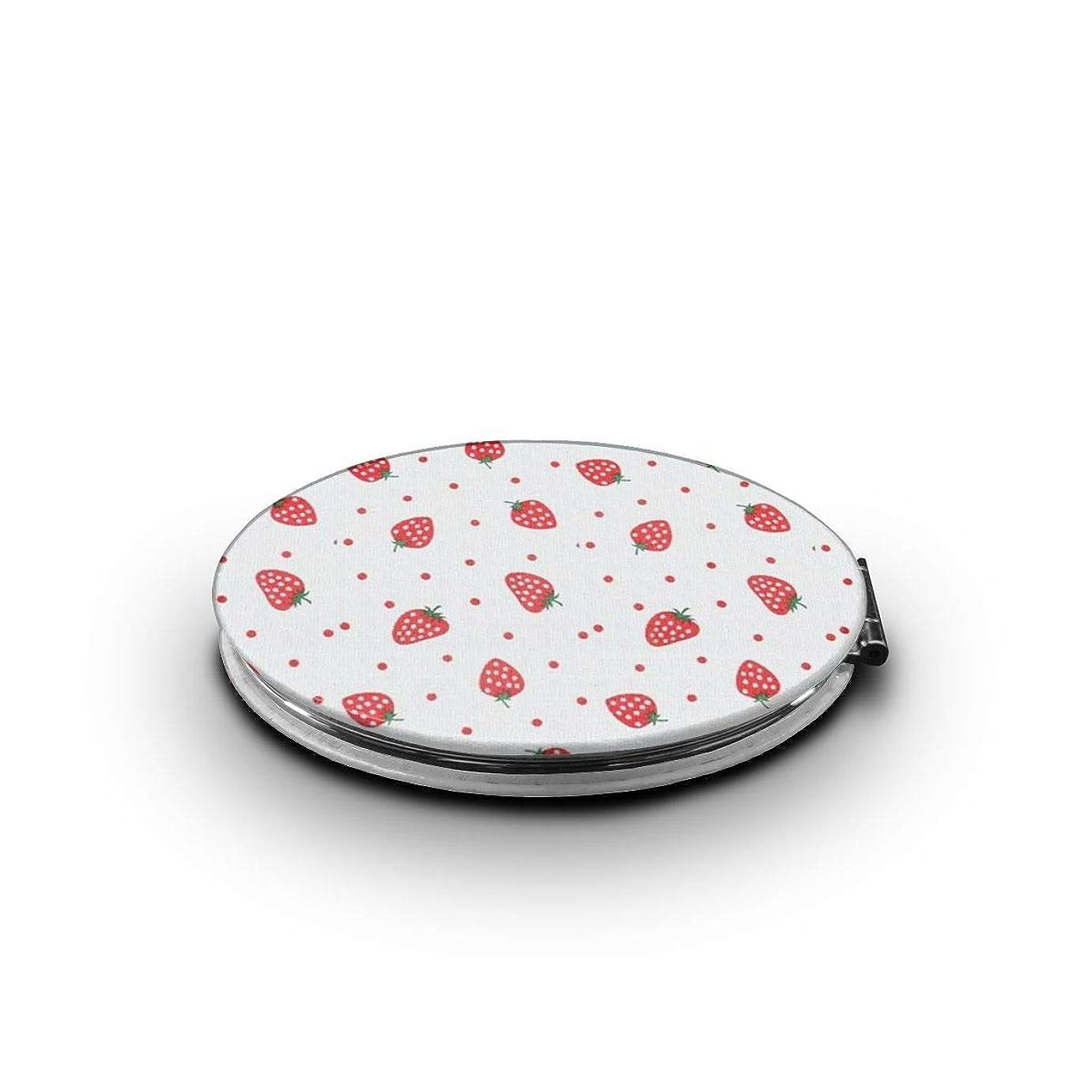 化粧鏡 赤苺 折りたたみ 自由 角度調整 180° 回転 女優ミラー 携帯用ミラー コンパクトコンパクト ミラー
