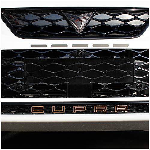 Finest Folia Folie für Emblem Schrift Schriftzug Aufkleber an Grill Auto Front Fahrzeug Cover passgenau (K112 Kupfer Matt Metallic)