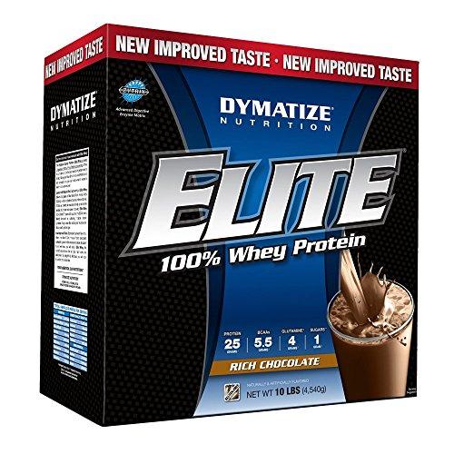 Elite Whey Protein 10 lb (4535g) EU Köstliche Schokolade