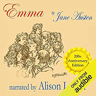 Emma - The 200th Anniversary Audio Edition                   By:                                                                                                                                 Jane Austen                               Narrated by:                                                                                                                                 Alison Larkin                      Length: 16 hrs and 46 mins     76 ratings     Overall 4.3