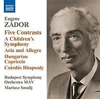 Five Contrasts/a Children's Symphony Aria & Allegr