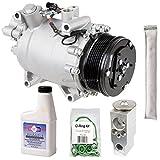 AC Compressor & A/C Repair Kit For Honda CR-V 2007 2008 2009 2010 2011 - BuyAutoParts 60-81204RK New