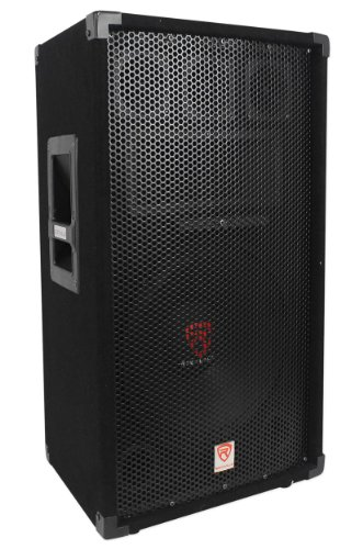 "Rockville RSG12 12"" 3-Way 1000 Watt 8-Ohm Passive DJ/Pro Audio PA Speaker"