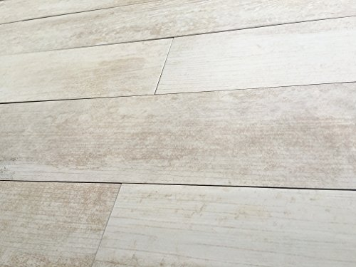 Rectified Wood Look Sand White Matte Finish 5x24 Porcelain Floor and Wall Tile