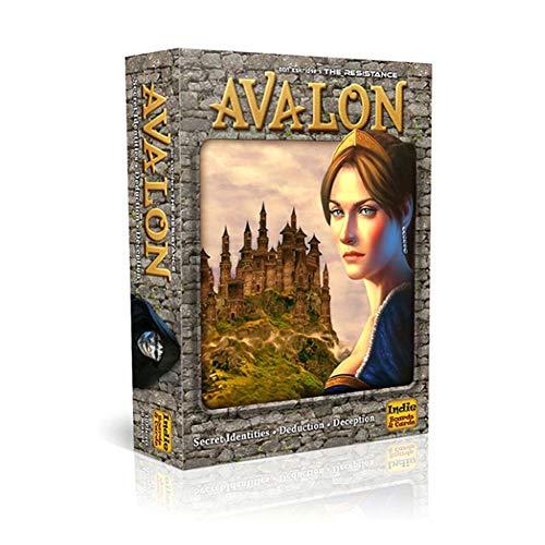 M-GLT Carta di Avalon Gioco da Tavolo Popolare 5-10 Giocatori Tabellone di Gioco (in Inglese)