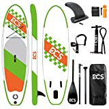 """Airgymfactory Inflatable Stand Up Paddle Boards Premium SUP Accessories & Carbon Fiber Adjustable Paddle & Inflation and Deflation Double Action Bravo Pump 10'/10'6""""/12'6"""" (Mint Green Camouflage)"""