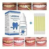 Shoppy Shop LANBENA Cleaning Serum Removes Plaque Stains Teeth Whitening Essence Powder Oral