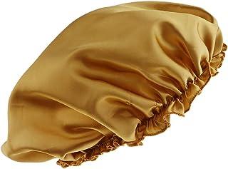 Prettyia Women Plain Silk Satin Pure Night Sleep Cap Hair Care Beauty Bonnet Hat Head Cover