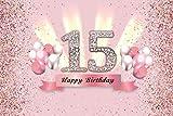 Fondo de cumpleaños Feliz 50th 40 30 25 18 Fiesta de cumpleaños Cartel de...