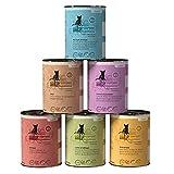 Catz finefood - Comida Fina para Gatos en húmedo, Varios Tipos en Paquete Mixto, 6 latas de 400 g