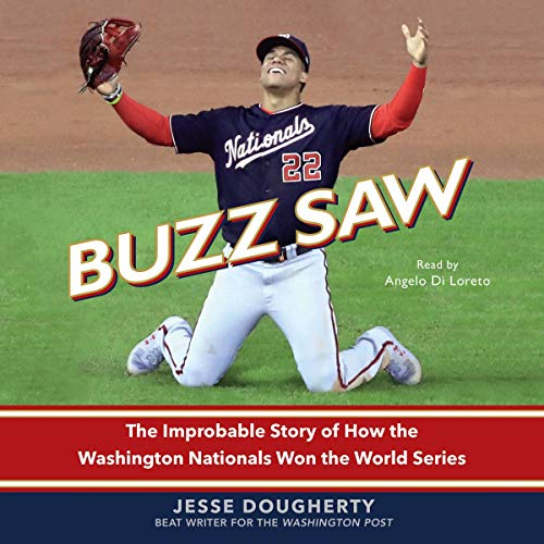 Buzz Saw audiobook cover art