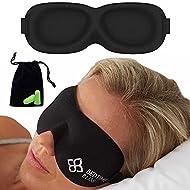 Eye Mask for Sleeping   Sleep Mask Men/Women Better Than Silk Our Luxury Blackout Contoured Eye Mask...