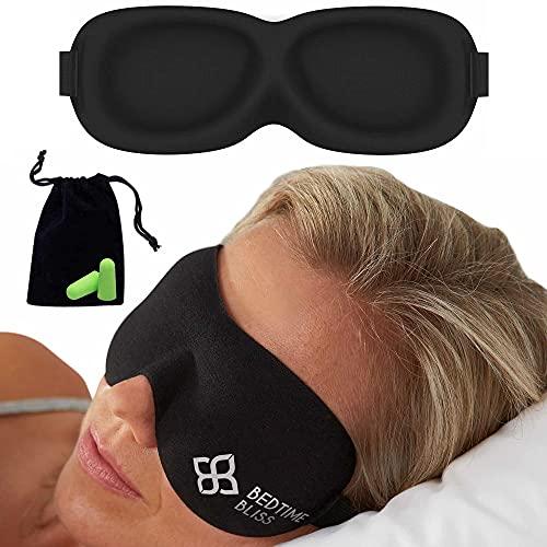 Eye Mask for Sleeping | Sleep Mask Men/Women Better Than Silk Our...