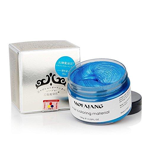MOFAJANG Hair Coloring Wax Blue Review