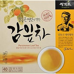 Customer reviews [HEALTH TEA] Korea Food Persimmon Leaf Tea 1.0g X 40 Tea Bags 감잎차 감잎:Donald-trump