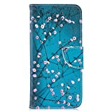 Huawei Y7 2019 Case, PU Leather Wallet Phone Case Flip TPU