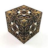 GeoBender Cube Nautilus – der komplexe Magnetwürfel, 3D Puzzles, Geduldsspiel für Kinder und...