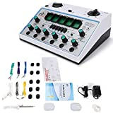 KWD808-I Stimulator Machine 50Hz Electric Acupuncture Stimulator Massager Machine 6 Channels Outputs Patch Massager Care Device 100-240V Pulse Electrotherapy Acupuncture Instrument