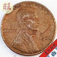 記念コインの絶妙なコレクション アメリカ。 1944年に、1つのccoで打たれたコインリンカーン大統領のタクシーバージョン。古い19MM