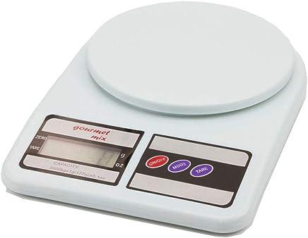 Balança de Precisão Digital para Cozinha Gourmet Mix Branco