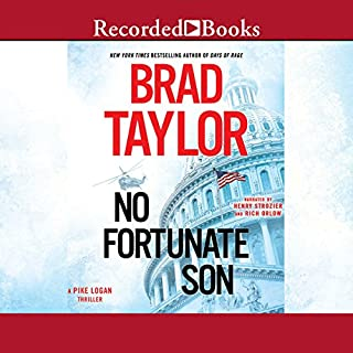 No Fortunate Son audiobook cover art