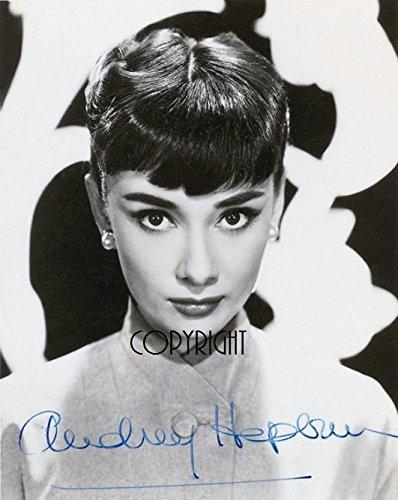 Limited Edition Audrey Hepburn Signed Foto Autogramm signiertsigniertes