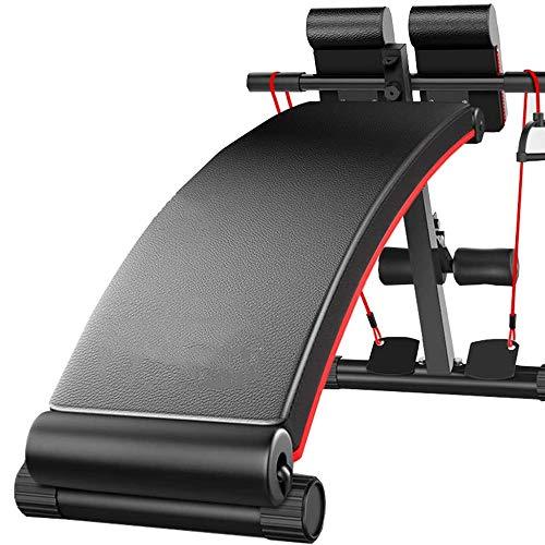 N\\A Startseite Faltbare Roman Chair Multifunktionale Professionelle Fitness Pastor Lehrstuhl for Bodybuilder, die Ausbildung von Muskelgruppen wie Bauch und Rücken