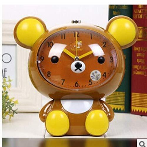 WWWL Rilakkuma - Reloj despertador, diseño de oso perezoso, color marrón