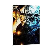 ASDLK Avenged Sevenfold Fledermaus-Poster, dekoratives